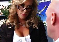 Teacher Brandi Love pound and plus titjob fun