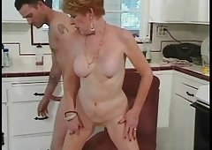Classic Granny Diane Richards drilled in kitchen
