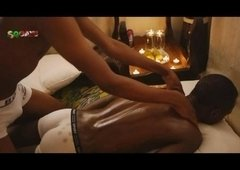 African Tribal Erotic Massage By Flirty Dark Boy