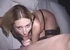 Pregnant blondie first time anus