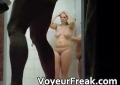 Great footage of hawt babes taking shower part2