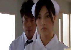 Super sexual Japanese nurses sucking part3