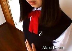 Innocent 18yo korean baby Akira