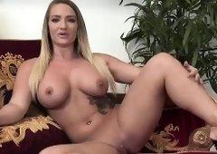 Blonde curvy babe Bridgette B. fucked