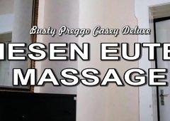 Casey Good-looking - RIESEN EUTER MASSAGE